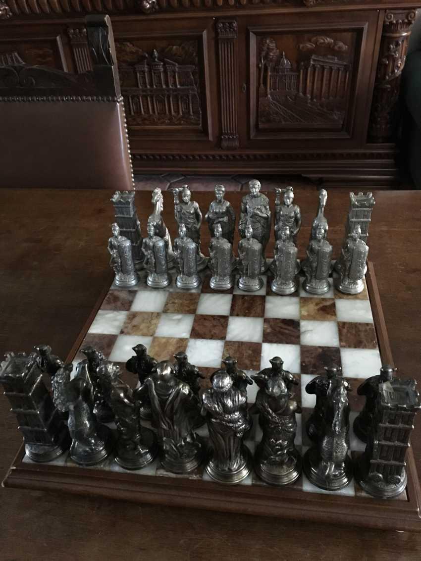 "Chess "" the Vikings "" and "" Knights"", XIX - n. XX centuries. - photo 2"