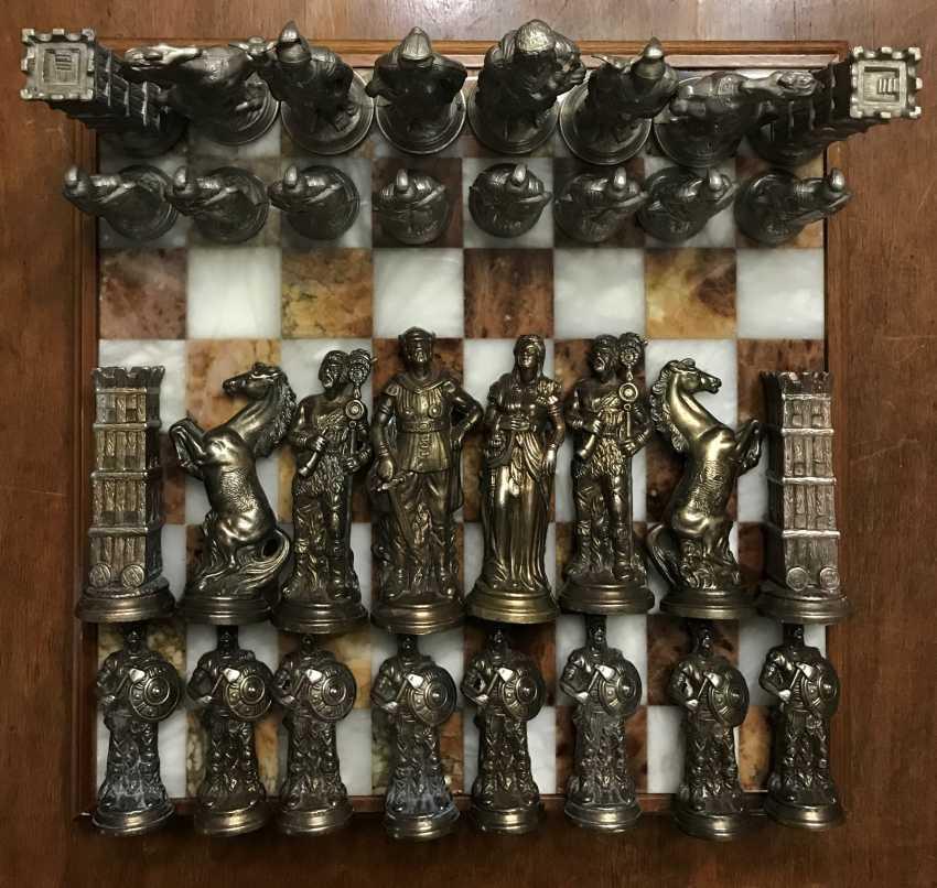 "Chess "" the Vikings "" and "" Knights"", XIX - n. XX centuries. - photo 7"