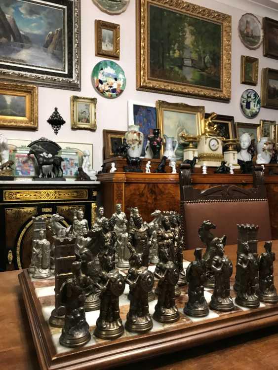 "Chess "" the Vikings "" and "" Knights"", XIX - n. XX centuries. - photo 9"