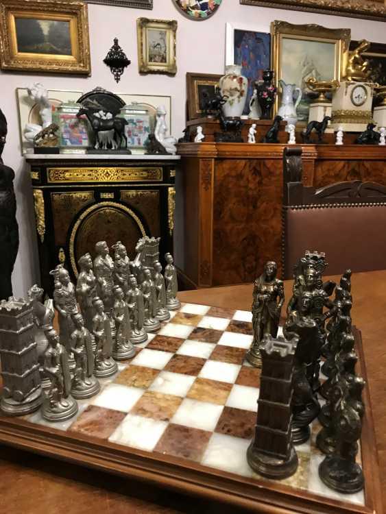 "Chess "" the Vikings "" and "" Knights"", XIX - n. XX centuries. - photo 10"