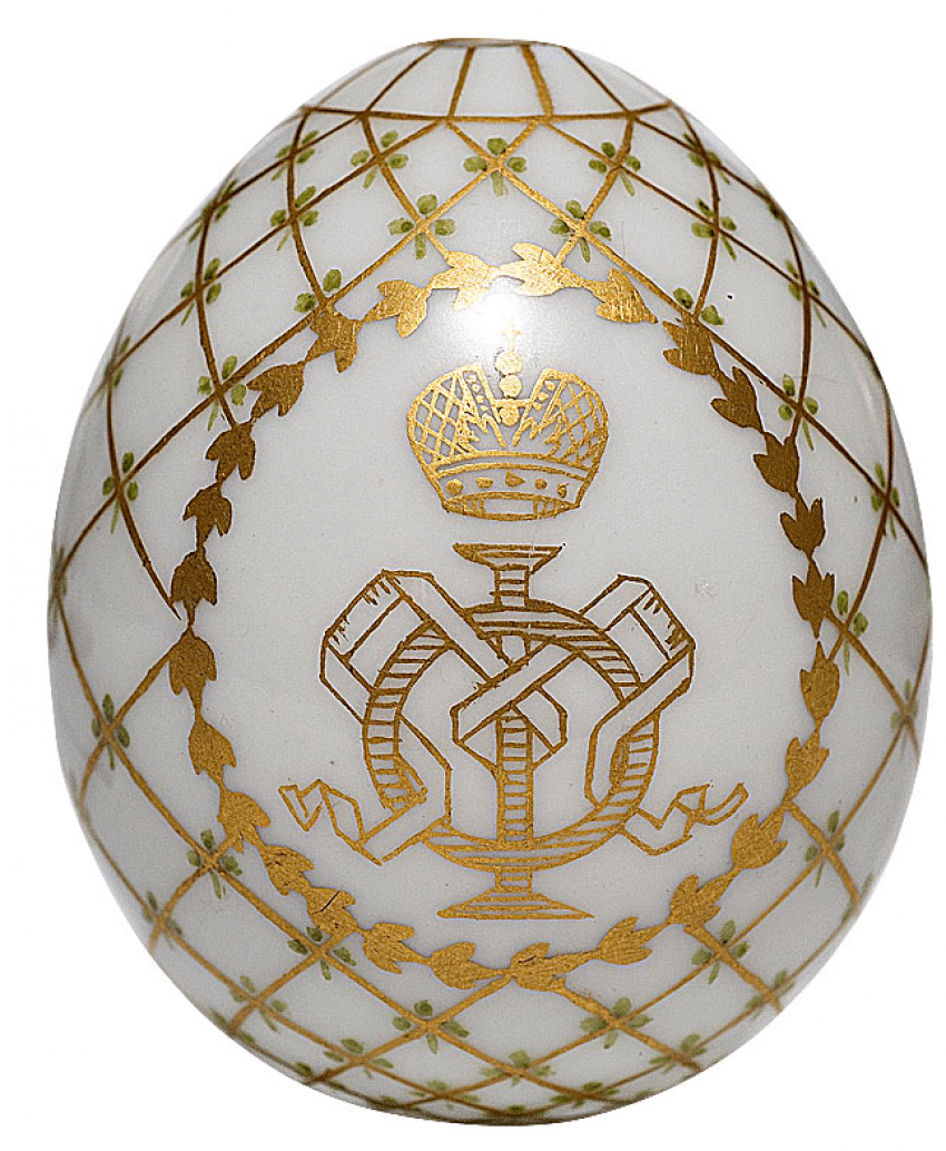 Easter egg Imperial porcelain factory, 1900-ies - photo 1