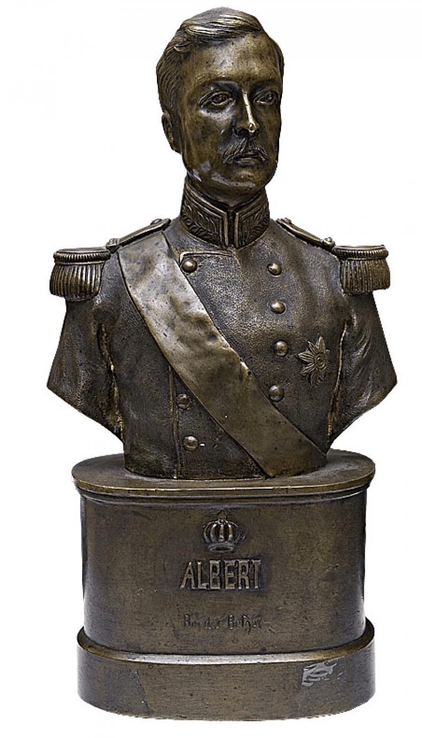 """A Bust Of """"King Albert"""" - photo 1"""
