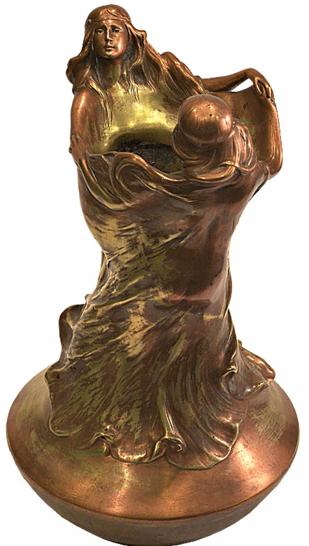 Vase modern Dance 1900-ies. - photo 1
