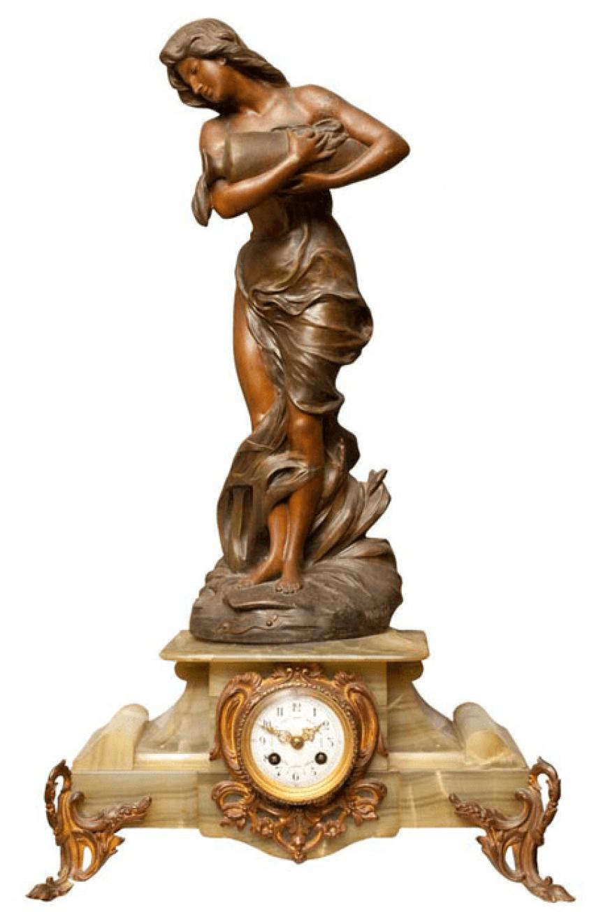 "Mantel clock ""JOUVENS"" - photo 1"