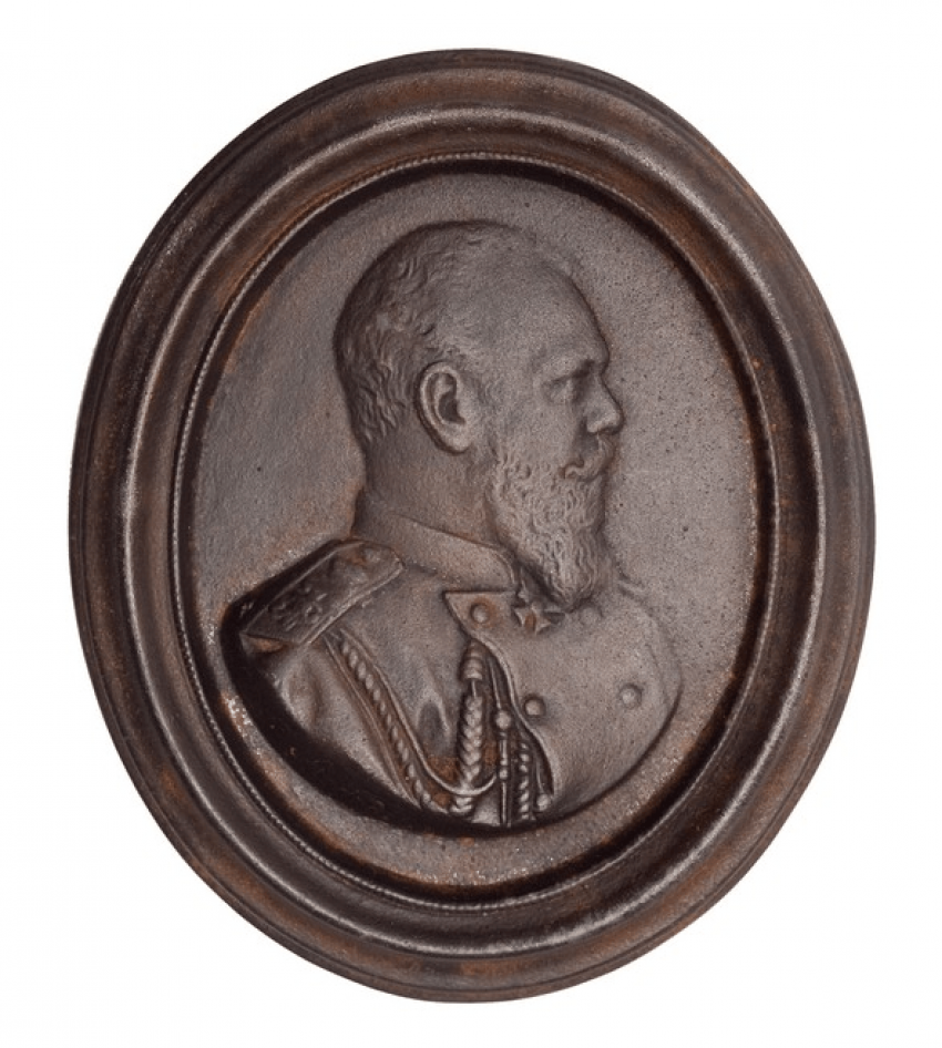 Plaque portrait of Alexander III - photo 1