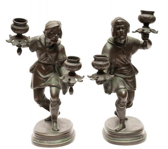 Candlesticks pair - photo 1