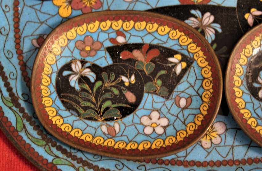 "Set ""enamel Champlevé"", France, XIX century - photo 2"