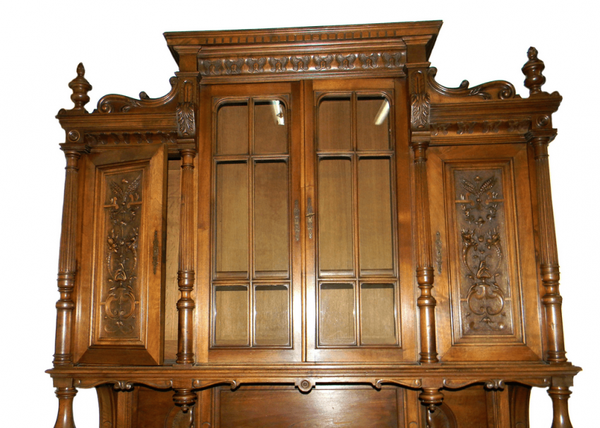 Carved sideboard in the style of Henry II, France - photo 3