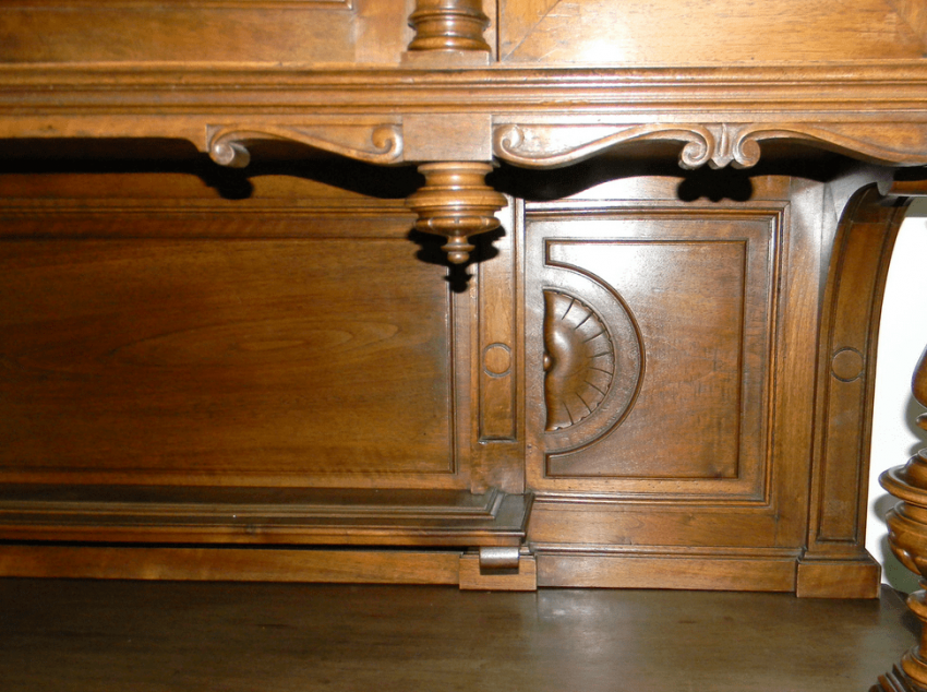 Carved sideboard in the style of Henry II, France - photo 4