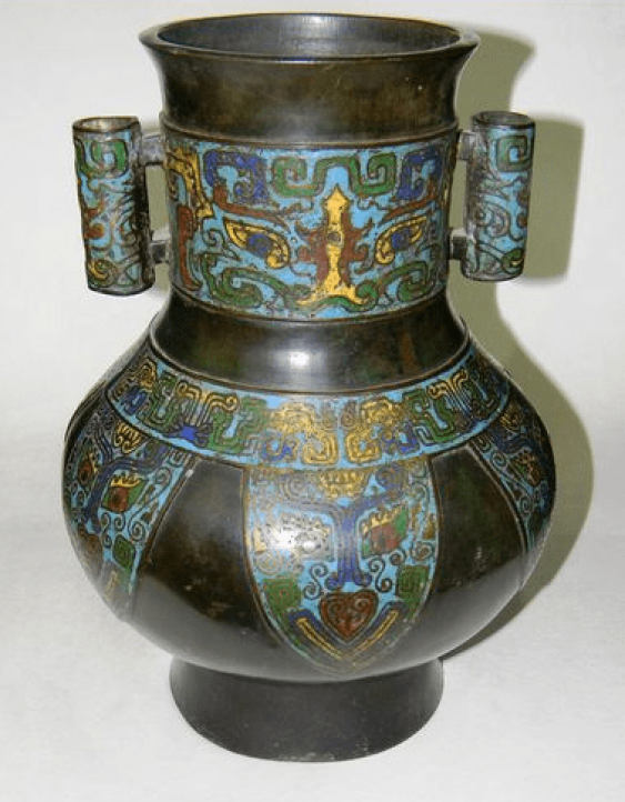 Vase Japan. Bronze - photo 1
