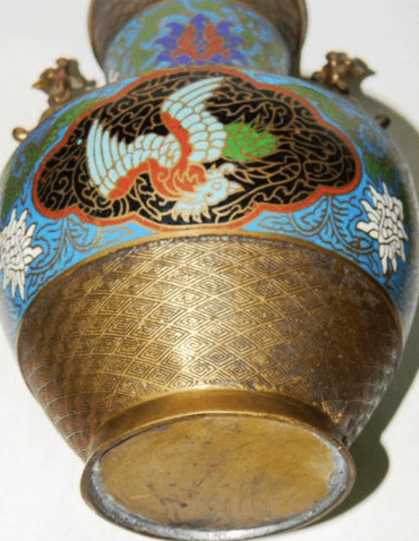 Vase Japan. Brass twentieth century. - photo 2