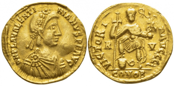 ROMAN EMPIRE SOLIDUS 426 - 430 - photo 1
