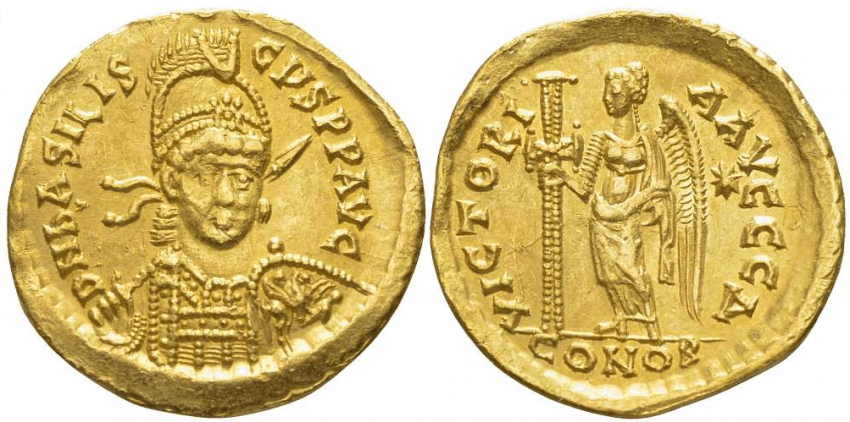 ROMAN EMPIRE SOLIDUS 475 - photo 1