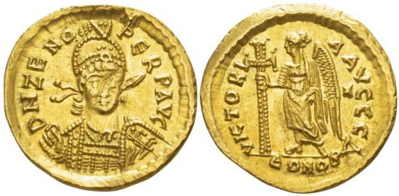 ROMAN EMPIRE SOLIDUS 476 - 491 - photo 1