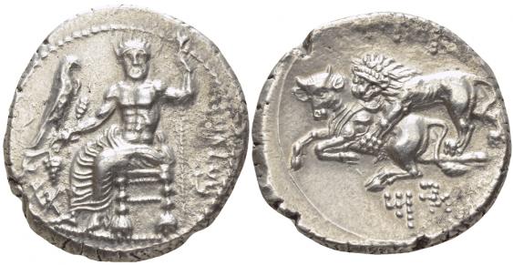 CILICIA, TARSUS, STATER 361-334 gg - photo 1