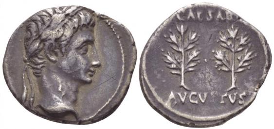ROMAN EMPIRE DENARIUS 20 - 16 gg - photo 1