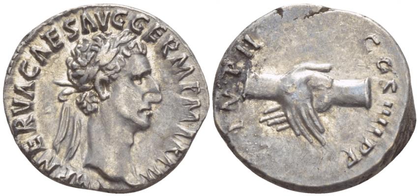 ROMAN EMPIRE DENARIUS 98 NERVE - photo 1