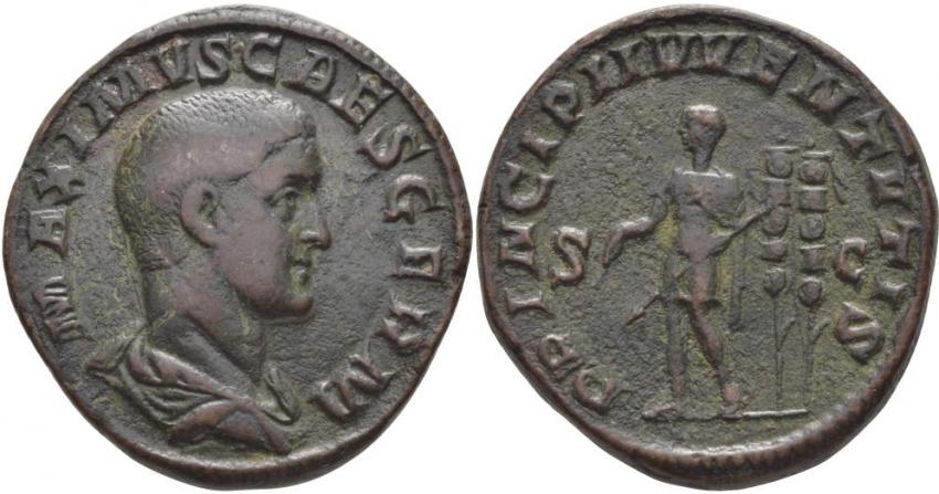 ROMAN EMPIRE SESTERTIUS 235 - 238 MAXIM - photo 1