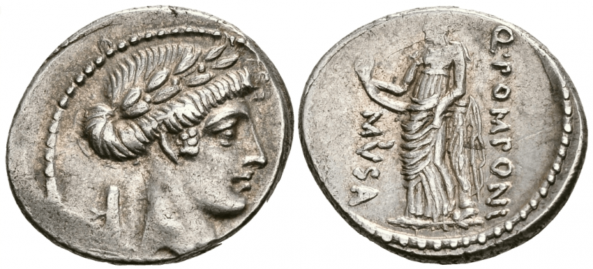 ROMAN REPUBLIC DENARIUS 66 g - photo 1