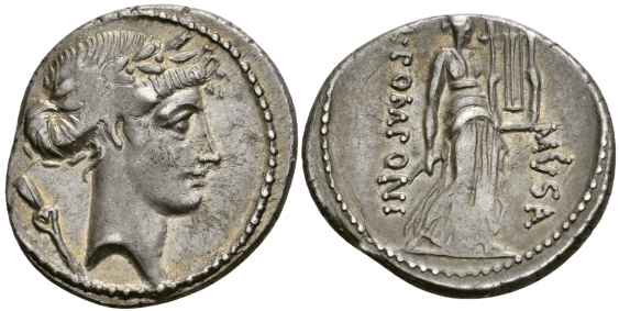 ROMAN REPUBLIC DENARIUS 66 g - photo 1