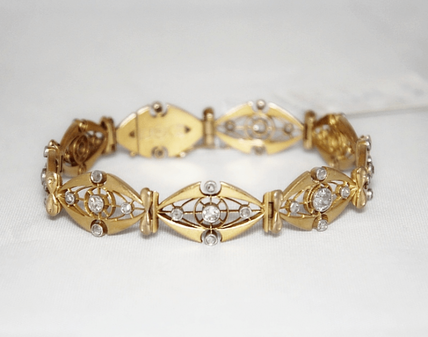 Bracelet with diamonds - photo 1