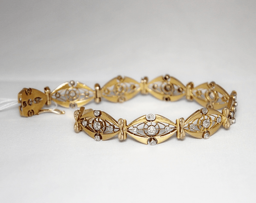 Bracelet with diamonds - photo 2