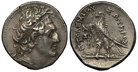 THE STATE OF PTOLEMAIC TETRADRACHM - photo 1