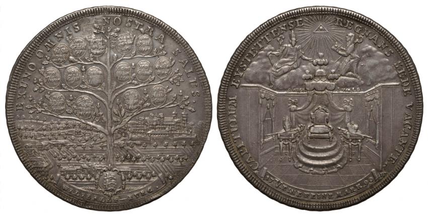 BAVARIA - EICHSTÄTT 2 TALER 1790 - photo 1