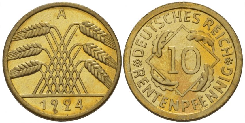 GERMANY 10 RECEPTIONYOU 1924 - photo 1