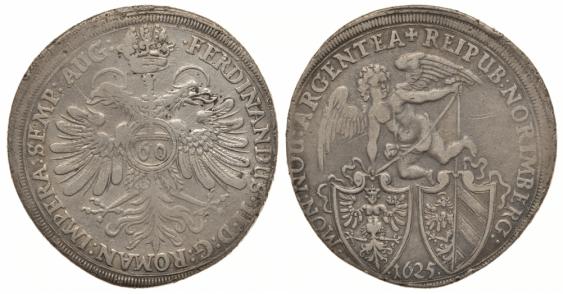 NUREMBERG 60 KREIZEROV 1625 FERDINAND II - photo 1