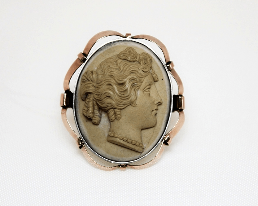 Ring - cameo gold 585 - photo 1