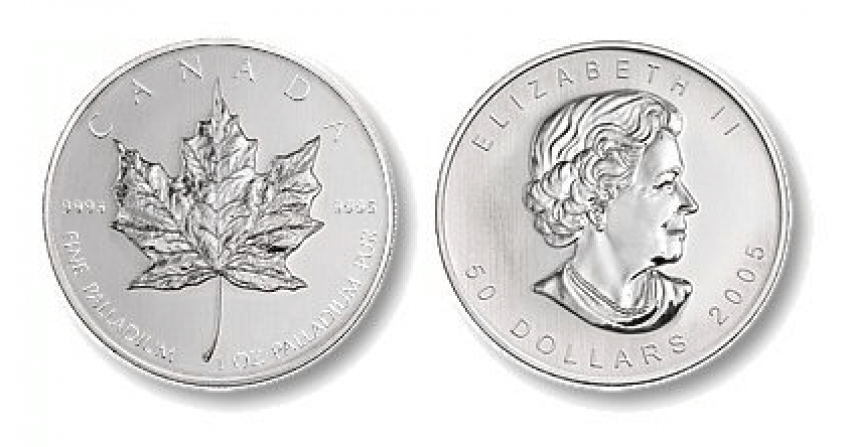 CANADA 50 DOLLARS MAPLE LEAF 2005 - photo 1
