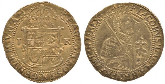 ENGLAND 1 1605-1609 UNITE JAMES I - photo 1