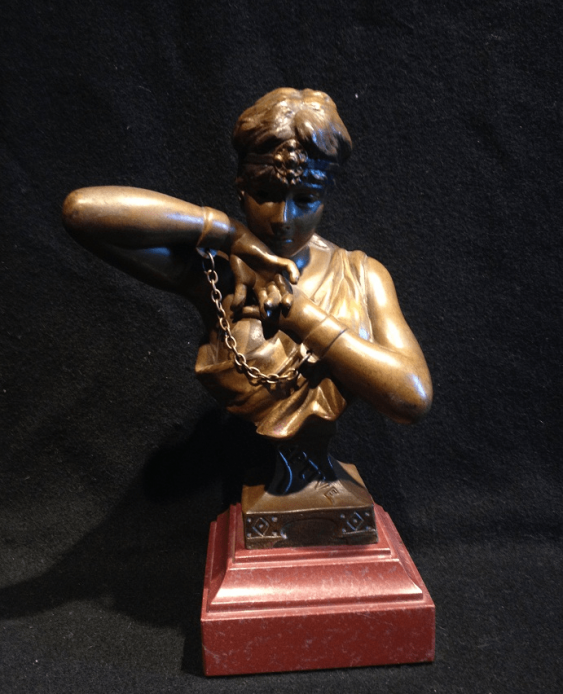 "Bust ""Slave"", Bronze - photo 1"