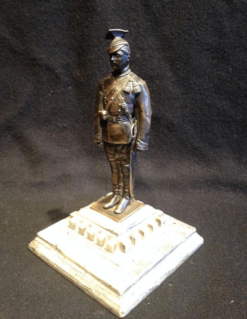 "The sculpture ""Guards lancers"" - photo 1"