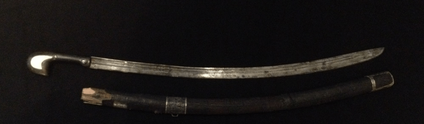 A Caucasian sword in the scabbard, XIX century - photo 1