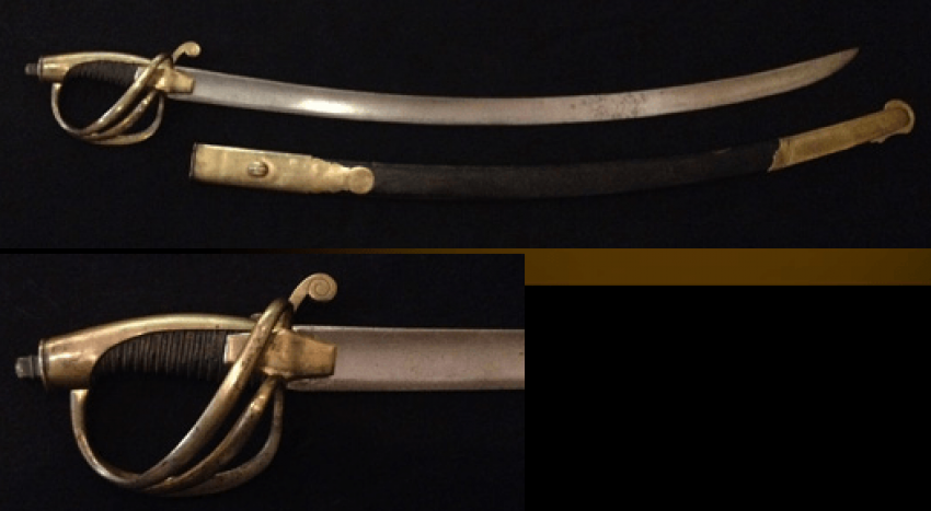 The marine officer's sword. 1811 in sheath. - photo 1