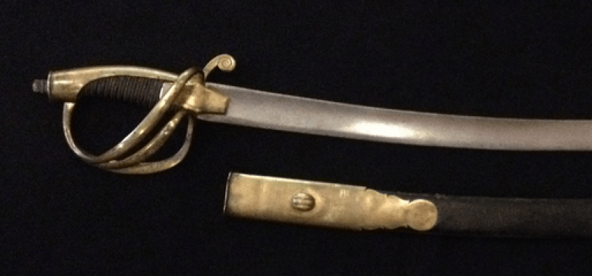 The marine officer's sword. 1811 in sheath. - photo 2
