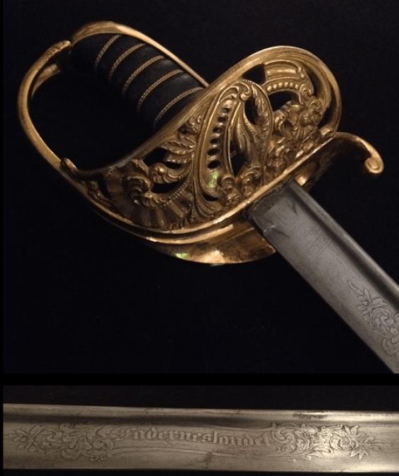 Swedish cavalry saber - photo 4