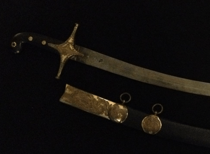 English officer's saber - photo 1