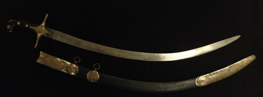 English officer's saber - photo 4