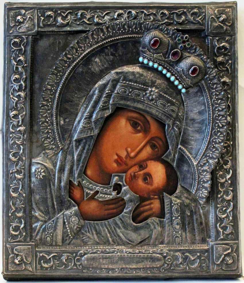 "L'Icône De La Vierge ""Korsunskaya"" - photo 1"