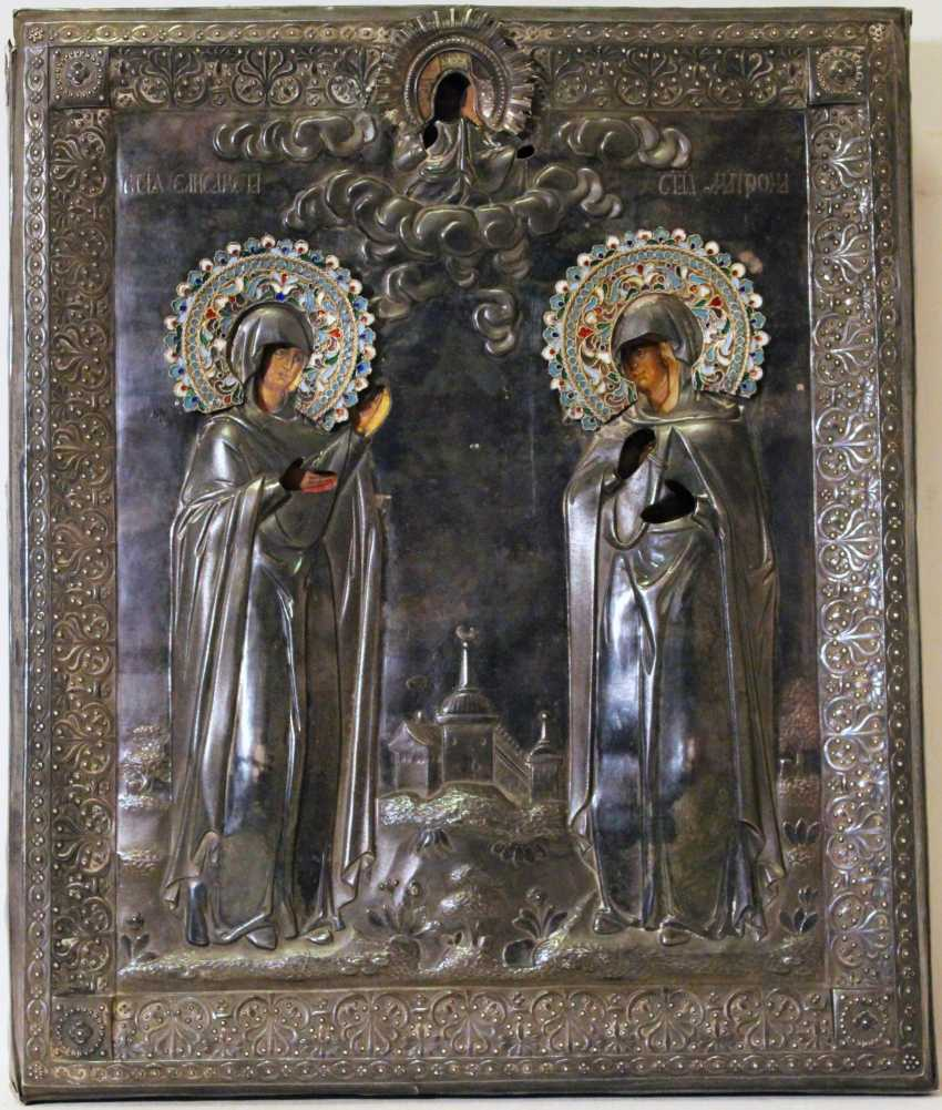 """Icon of """"St. Elizabeth and the Matron"""" - photo 1"""