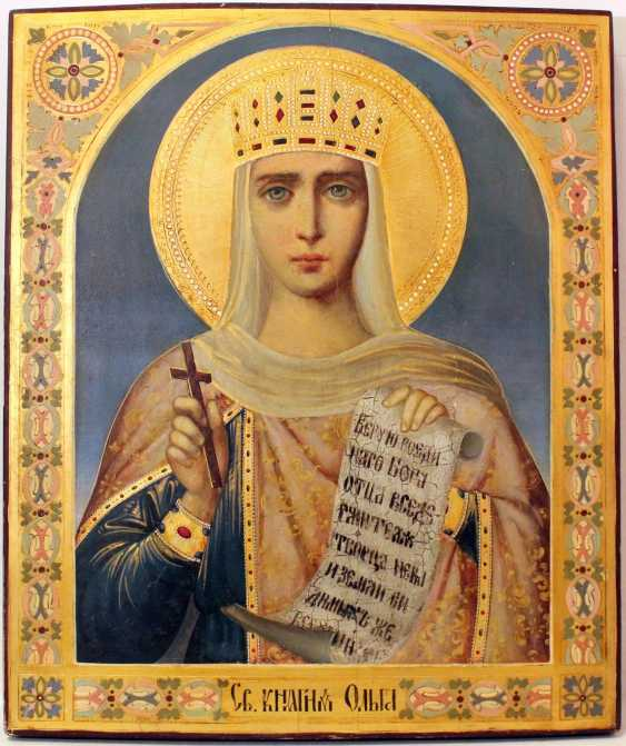 "Icon ""Saint Olga"" - photo 1"