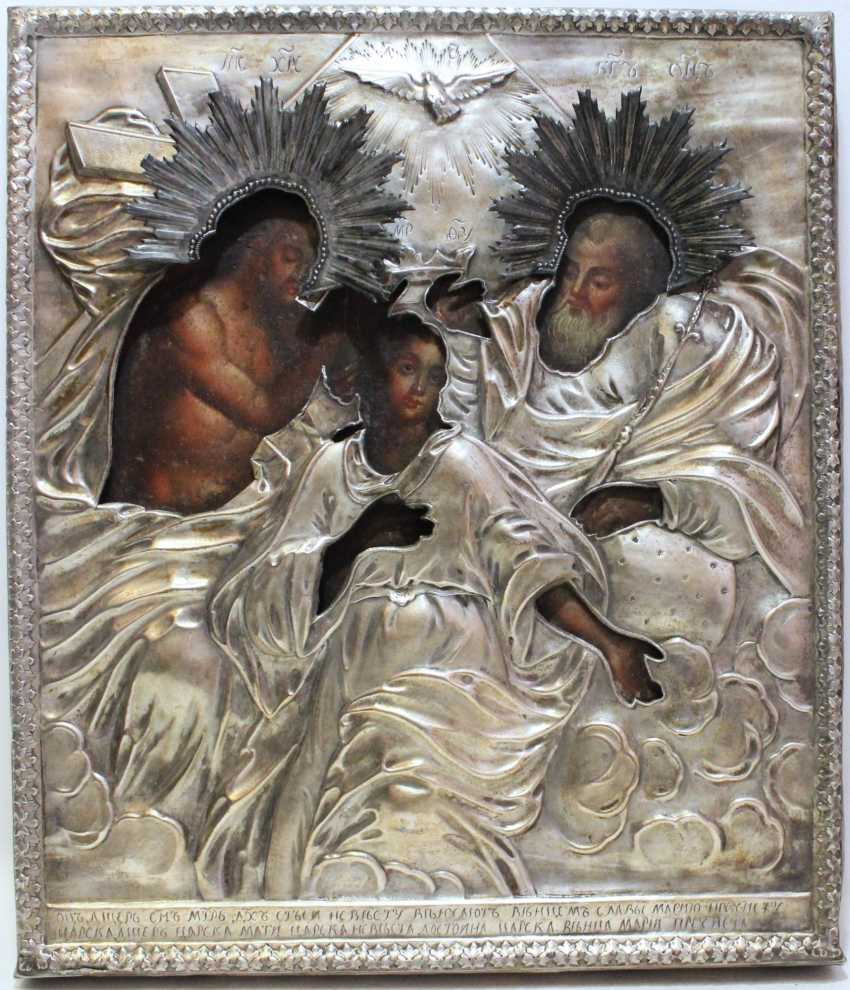 "Icon ""Coronation Of The Virgin"" - photo 1"