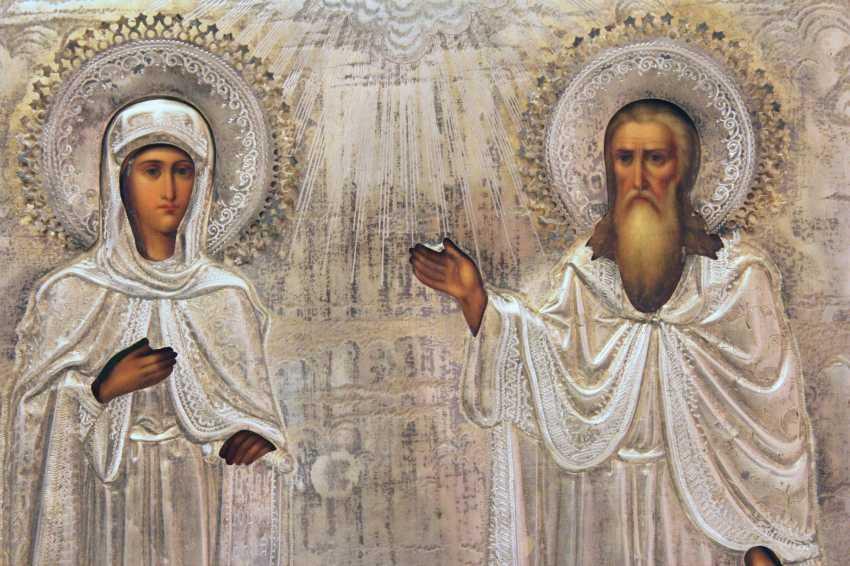 "Icon of ""St. Anastasia and Ilya"" - photo 2"