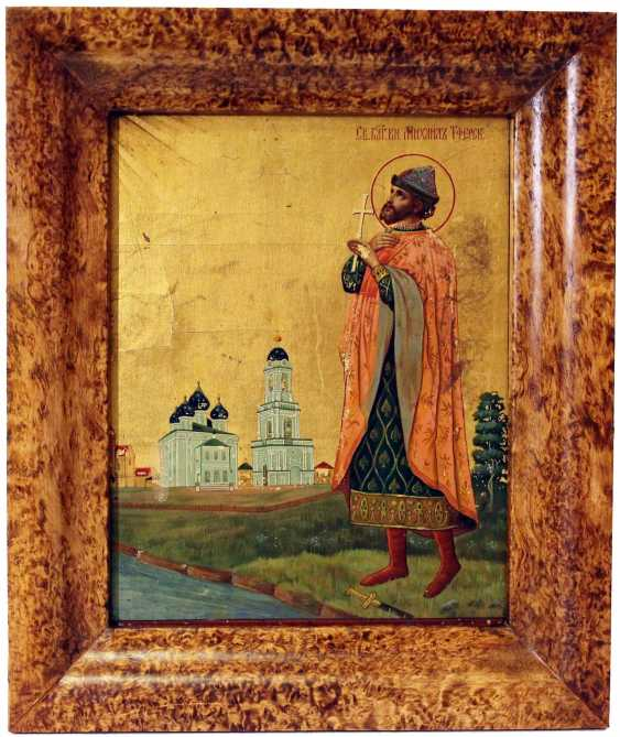"The Icon Of ""Saint Michael Of Tver"" - photo 2"