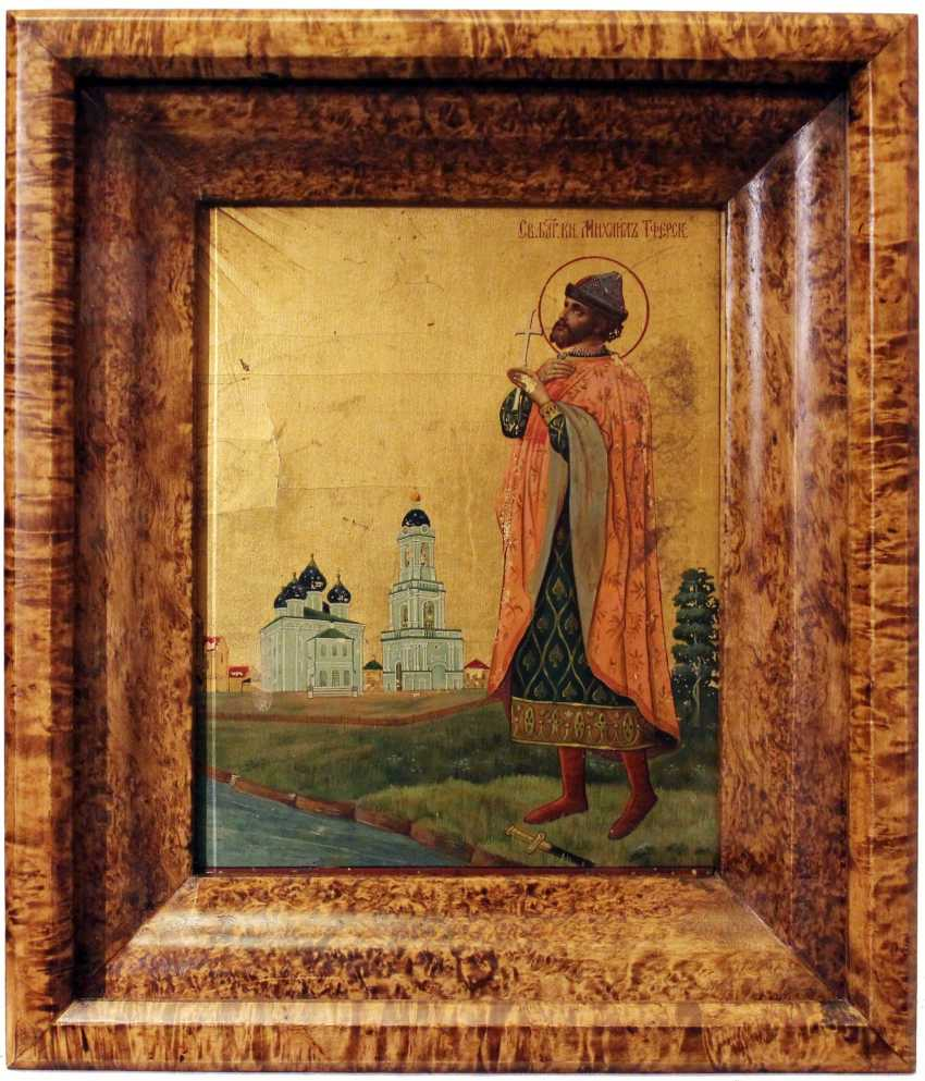 "The Icon Of ""Saint Michael Of Tver"" - photo 1"