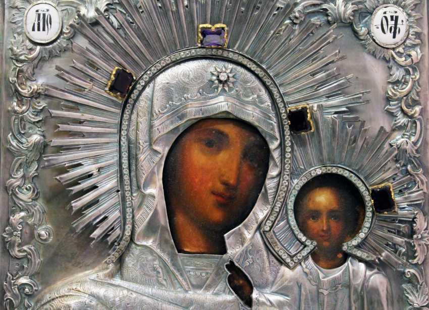 """The Icon Of The Mother Of God """"Kazanskaya"""" - photo 3"""