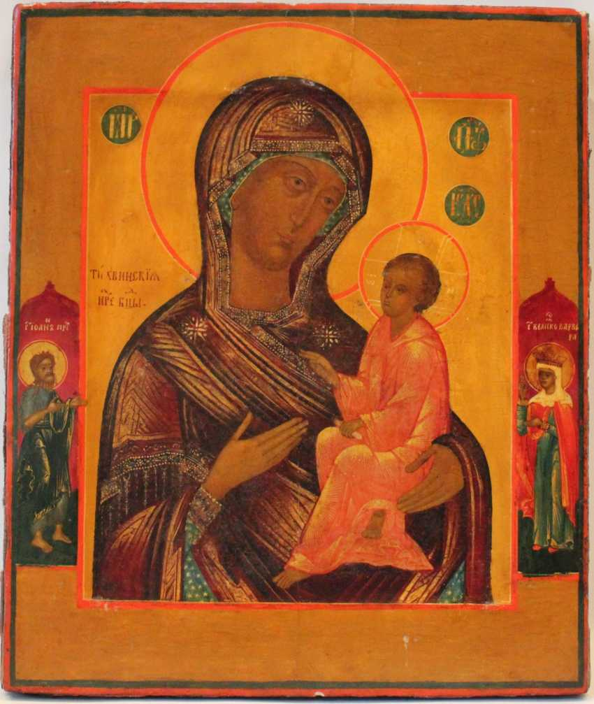 """The Icon Of The Mother Of God """"Tikhvin"""" - photo 2"""